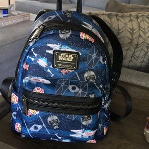 Star Wars Loungefly mini backpack for Disney